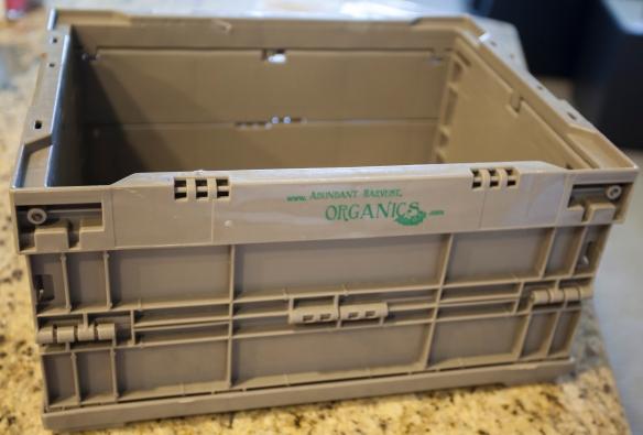 Veggie box empty